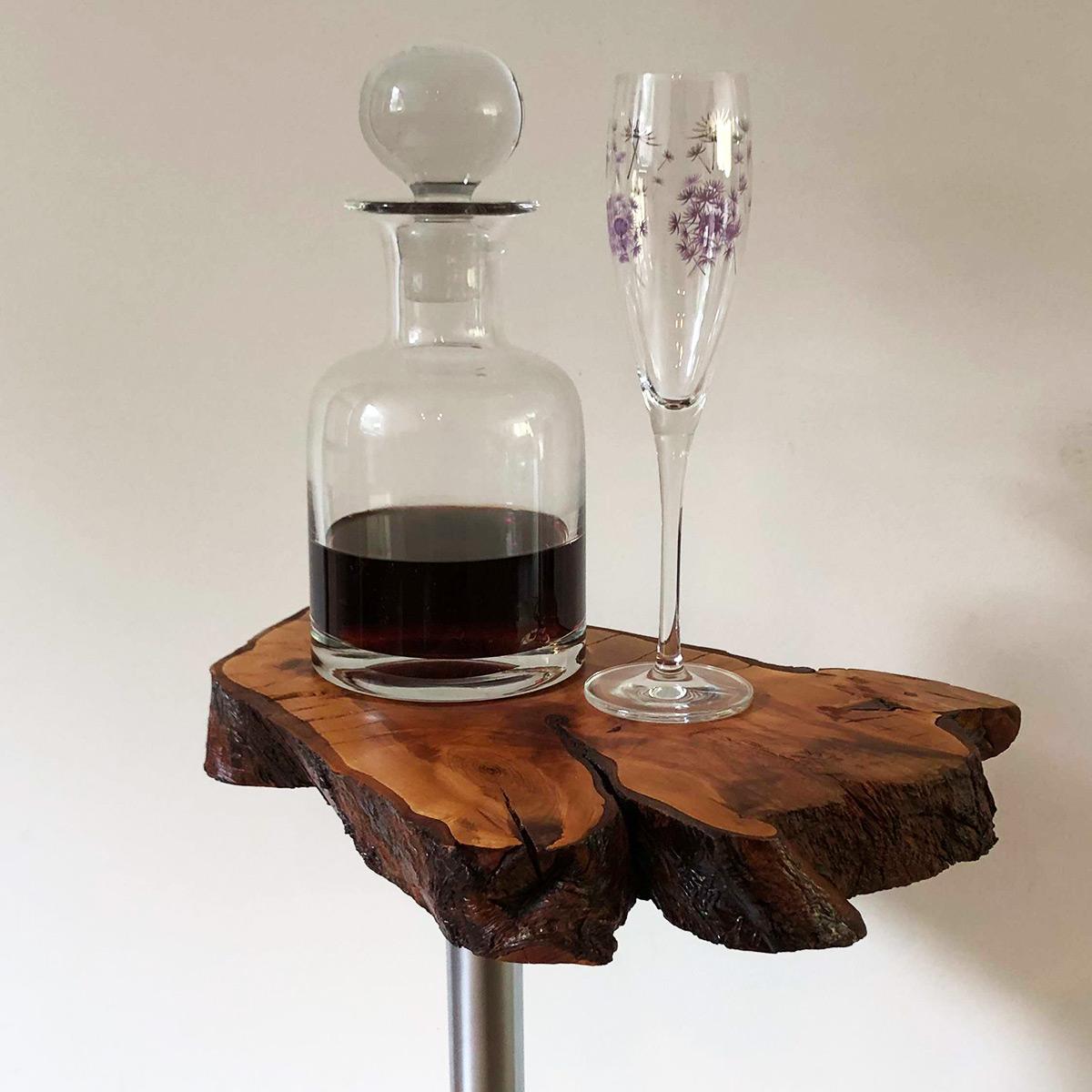 Bijzettafel Rudy met Port en glas